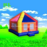Красочные радуга надувной прыжком Bouncer для детей