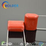 Condensatore rosso della pellicola (CBB22 115/400 P=15)