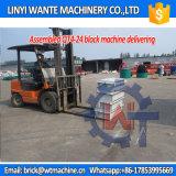Blocchetto manuale del macchinario Qt4-24 di Wante/blocchetto della cavità che fa prezzo della macchina