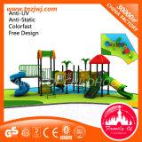 Мода дизайн жилых пластиковый открытый детская площадка оборудование