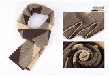 Шерстей зимы людей шарф горячих Nylon акриловый связанный сплетенный (YKY4607)