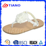 Pu Upper en TPR Sole, Girls Sandals (TNK50031)