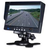 7 pouces haute résolution 2shc voiture moniteur à écran LCD pour les chariots 24 V