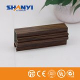 Transfert du grain de bois de construction en aluminium Aluminium Profile Profil en aluminium extrudé Sections personnalisé