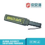 Suono/indicatore luminoso/metal detector tenuto in mano di vibrazione con l'anti maniglia di pattino
