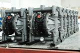 Pompa a diaframma pneumatica dell'aria materiale dell'alluminio di Rd 15 per il mini trasferimento dell'olio