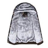 Revestimentos cheios mornos de Hoodie do velo de Eco Sherpa do fecho de correr do inverno dos homens