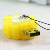 옥수수 USB 섬광 드라이브 옥수수 모형 USB 2.0 기억 장치 지팡이의 시뮬레이션