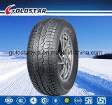 Neumático de invierno con nieve patrón