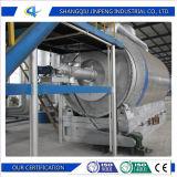 Pneumatico residuo che ricicla per lubrificare macchina