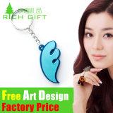Super Quality Metal/PVC Custom Engraved Keychain for Women