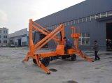 6-16m 중국 최신 판매 세륨 승인되는 고품질 거미 판매를 위한 유압 자동차 상승