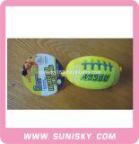 Flockiges Rugby-Spielzeug mit Tönen für Hunde