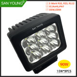 5pouce 90W La commande de LED Lampe à LED Spot LED lampe de travail la lumière des projecteurs à LED
