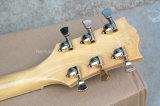 Semi-Hollow Hanhai Musique / guitare électrique avec couleur d'origine (L5 style)