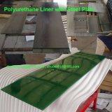 Полиуретан гильзу со стальной опорной плиты