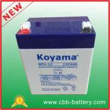 12V 4Ah AGM Bateria de chumbo-ácido para segurança, Scooter