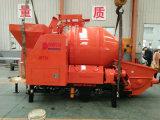 Bomba de transporte de Mistura de betão é um novo tipo de equipamento de engenharia combinando Betoneira e bomba de concreto juntos.