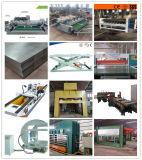 1220mmx2440mmの堅材の合板の熱い出版物の機械または削片板の生産ライン