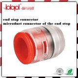 Monture d'embout de Microduct/prise, arrêt d'extrémité de tube
