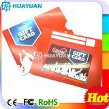 In het groot Custom de giftkaart van druk plastic pvc met kaarthouder