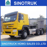 Cabeça do caminhão do trator do veículo com rodas 371HP HOWO de Sinotruk 21-30ton 6X4 10