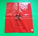 Крупноразмерный мешок Biohazard устранимый, медицинский мешок отброса