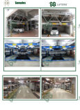 Gg elevadores hidráulicos 6 Estabelece Puzzle do sistema de auxílio ao estacionamento