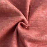 빨간색 (ND-0346-0008)에 있는 자연적인 염색된 대마 유기 면 직물
