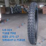 Chinesisches langes Bearbeitungszeit-Motorrad-schlauchloser Gummireifen (2.50-17, 2.75-17)