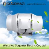 Baixo ruído de ventoinha do duto do ventilador do extrator 150mm