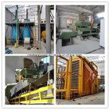 Cadena de producción de la tarjeta de paja cadena de producción del tablero de madera aglomerada de 2013/Chipboard planta