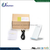 Fast bobines double chargeur sans fil intelligent Smart chargeur sans fil Silver Qi standard du logement
