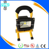 10W Battery Portable Emergency Rechargeable LED Floodlight