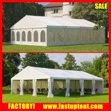 10X12mの100 Seaterのイベントのための白い玄関ひさし党テント