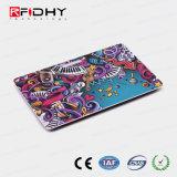 Cartão de sociedade programável da impressão RFID do Silk-Screen