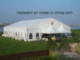 20x25m toile PVC Aluminium partie tente avec porte en verre