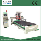 Hölzerner CNC-Fräser-bewegliche Brücken-Matrix-Tisch-Maschine