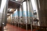 Cuve de fermentation d'acier inoxydable pour le projet de fermentation