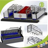 New Design Pig Equipment Galvanized Hog Farrowing Crate