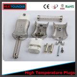 Conector elétrico de plugue de cerâmica usado para aquecedor de banda industrial