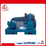 Compresor de aire del uso del barco de la presión inferior de la unidad de la correa