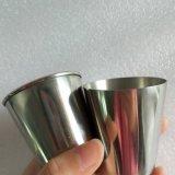 80mlステンレス鋼の金属の飲むコップ