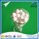 Novo adsorvedor de bola de alumina ativada
