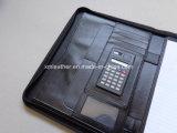 Ufficio Use Leather Zippered Portfolio per Men