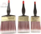 각종 색깔 인공적인 헤드 또는 플라스틱 손잡이 고품질 페인트 붓