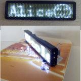 prix d'usine Red 7,8'' X 3'' 12x38 Blanc LED programmable Défilement du message d'un insigne du défilement de texte via ordinateur USB