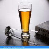 Commerce de gros de jus de bière en verre transparent créatif Cup