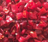 Sezione del peperoncino rosso caldo/anello del pepe