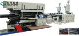 PE PP PVC de doble pared corrugado línea de extrusión de tubería de línea / 225 hasta 800 mm Producción / Extrusora de plástico